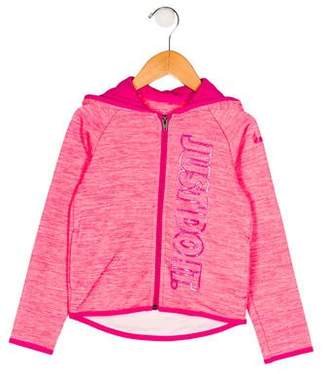 Nike Girls' Printed Hooded Jacket w/ Tags