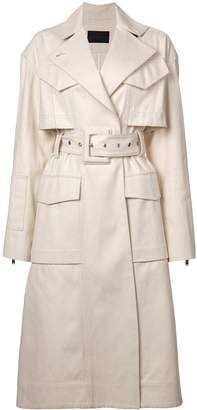 Proenza Schouler Canvas Denim Trench Coat