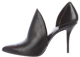 Alexander Wang Leather Pointed-Toe Pumps