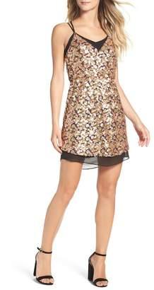 Adelyn Rae Becca Sequin Minidress