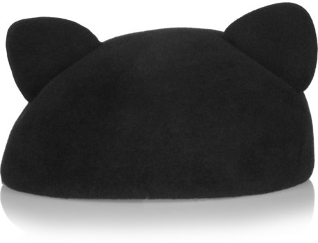 Eugenia Kim Caterina rabbit-felt beret