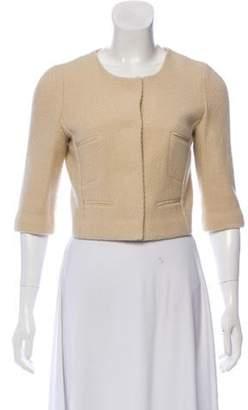 Narciso Rodriguez Tailored Wool Bolero Tan Tailored Wool Bolero