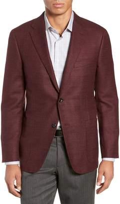 Hickey Freeman Weightless Classic Fit Wool & Silk Sport Coat