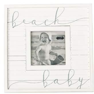 Mud Pie Beach Baby Picture Frame