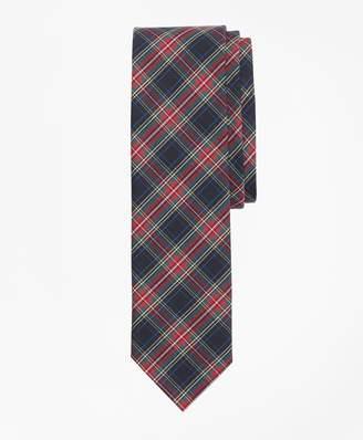 Brooks Brothers Stewart Tartan Basketweave Tie