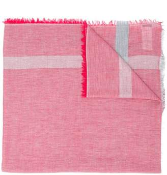 Closed single stripe scarf