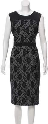 Karl Lagerfeld Sleeveless Midi Dress