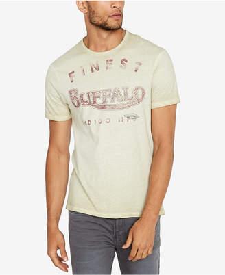 Buffalo David Bitton Men Logo Print T-Shirt