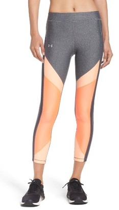 Women's Under Armour Heatgear Midi Leggings $49.99 thestylecure.com