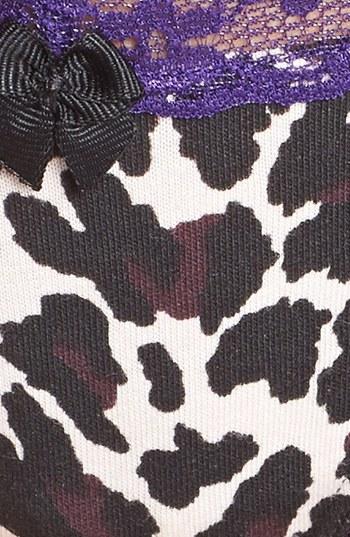 BP. Undercover Lace Waist Low Rise Thong (Juniors)