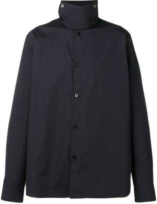 Jil Sander band collar shirt