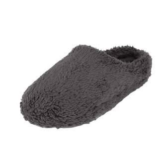 5747fc433dd9 Holiberty Womens Mens Comfort Fleece Memory Foam Slippers Fuzzy Plush Lining  Warm Slip-on Clog