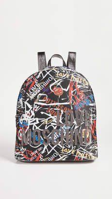 Moschino Love Graffiti Backpack