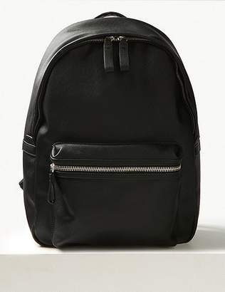 Marks and Spencer Textured Saffiano Backpack