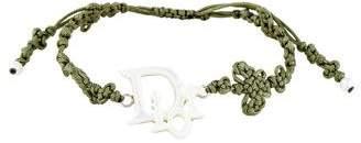 Christian Dior Logo Woven Bracelet