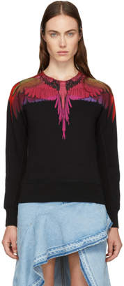 Marcelo Burlon County of Milan Black Color Wings Sweatshirt