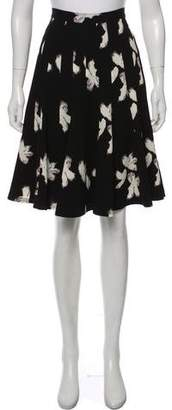 Marc by Marc Jacobs Floral Print A-Ling Skirt