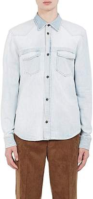 Maison Margiela Men's Denim Slim Western Shirt