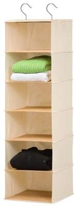 Honey-Can-Do 6 Shelf Bamboo Hanging Organizer