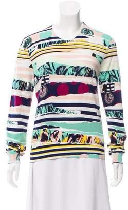 Kenzo Patterned Knit Sweatshirt