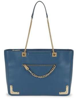 Furla Large Diana Leather Chain Tote