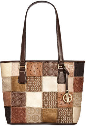 Giani Bernini Patchwork Tote