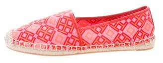 Tory Burch Canvas Espadrille Flats