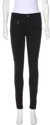 Burberry Mid-Rise Straight-Leg Pant w/ Tags