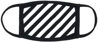 Off-White striped mask
