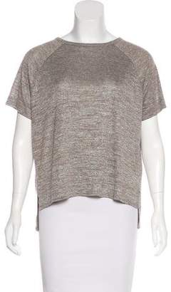 Rag & Bone Crew Neck Short Sleeve Top