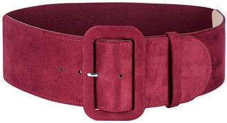 INC International Concepts I.N.C. Faux-Suede Stretch Belt, Created for Macy's