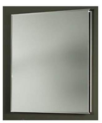 Afina Corporation SD-LT2030RARSGD 20 in.x 30 in.Recessed Single Door Cabinet with Traditional Lights - Aristocrat Gold