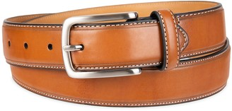 Croft & Barrow Men's Feather Edge Stitched Casual Belt