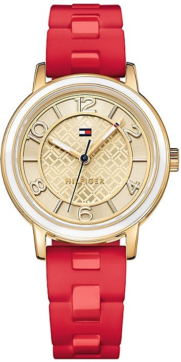 Tommy Hilfiger Elegance Sport Watch -Red