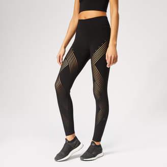 8bbfa34160a15 Black Athletic Tights - ShopStyle UK