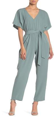 June & Hudson Tie Waist Jumpsuit