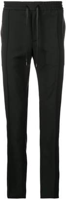 Valentino drawstring fitted trousers