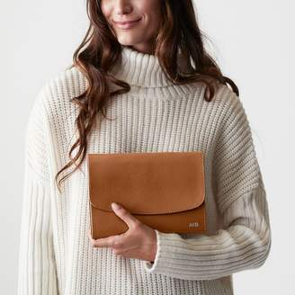 Mark And Graham Audrey Leather Jewelry Clutch
