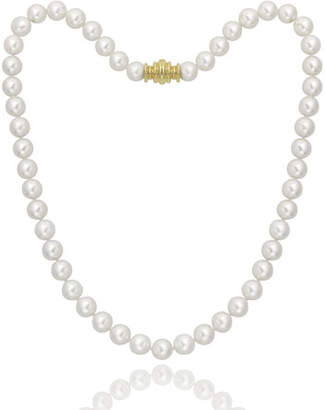 "Assael Akoya 16"" Akoya Cultured 8.5mm Pearl Necklace with Yellow Gold Clasp"