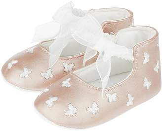 Monsoon Baby Girls Lola All Over Embroidered Bootie