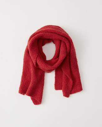 Abercrombie & Fitch Boucle Knit Scarf