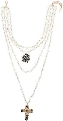 Twin-Set multi-strand pearl necklace