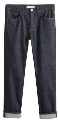 Mango Man MANGO MAN Dark wash regular-fit Steve jeans