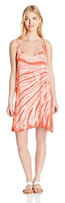 Lucky Brand Women's Fireworks Tie-Dye Cover-Up Dress $31.20 thestylecure.com