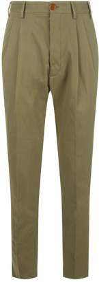 Vivienne Westwood Ribbed Tapered Trousers