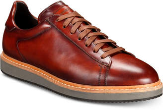 Massimo Emporio Men Wedge Leather Lace-Ups, Men Shoes