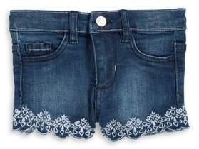 Bob Der Bar Little Girl's Embroidered Shorts