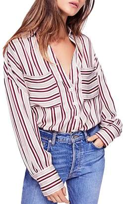 Free People Mad About Your Striped Shirt