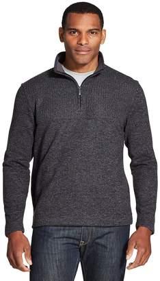 Van Heusen Big & Tall Flex Quarter-Zip Fleece Pullover