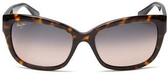 Maui Jim Women's Plumeria Cat Eye Sunglasses, 55mm